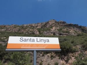 L'estació de Santalinya