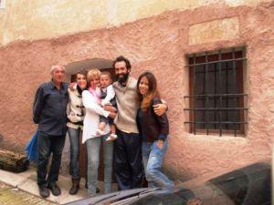 La família a Santalinya!